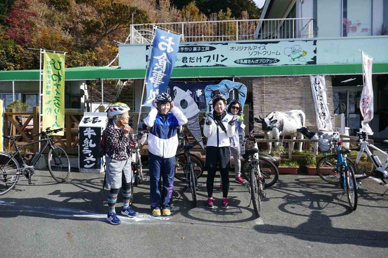 eバイクのサイクリングツアー実証実験