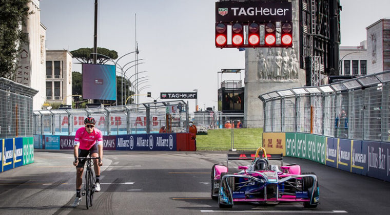 ピナレロ・NYTROがeロードバイクを使ったステージレース「ジロE」に参戦