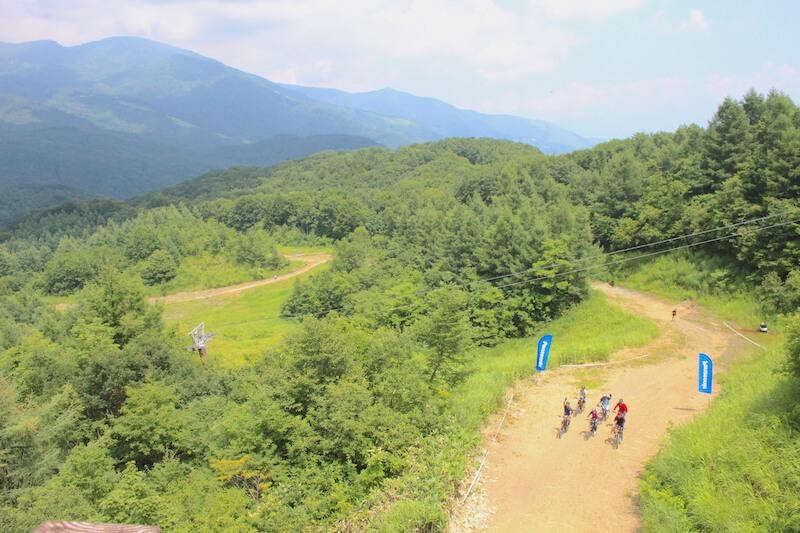 白馬岩岳MTBパーク