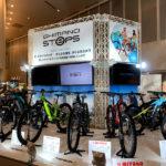 グラベルコンポーネント「GRX」シリーズからeバイクまで、シマノ2020モデル展示会コンポ編