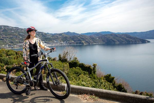 愛媛県・佐田岬e-Bike女子旅モニターツアー参加者募集!四国最西端をレンタルe-Bikeで走ろう