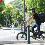 ターンの折りたたみeバイク「ヴェクトロンS10」をUber Eats配達員が使用してみた