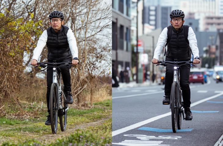 快適で速い! 街乗りも未舗装路もOKなサスペンション搭載eバイクで、遊びのフィールドを広げよう!