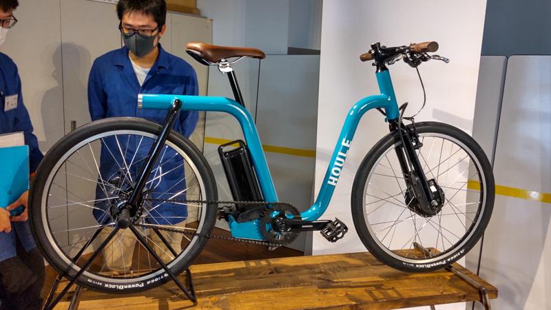 東京サイクルデザイン専門学校ワーキングバイクプロジェクト