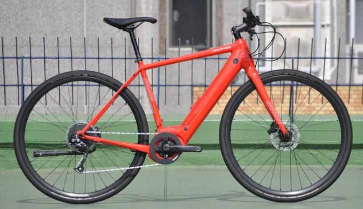 キャノンデールのeクロスバイク「クイックネオ」に試乗してみた