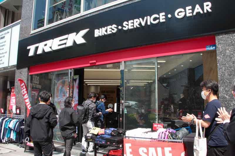 トレック直営店が東京・神保町にオープン! 試乗会も開催