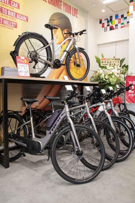 トレック神保町店eバイクコーナー