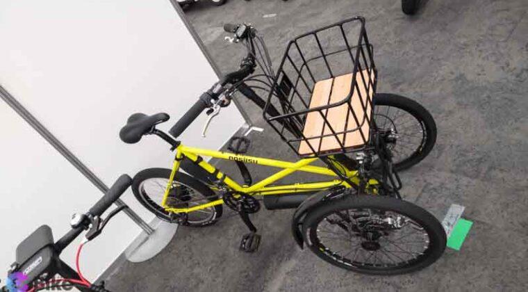 カワサキ製三輪eバイク ノスリスの詳細を見てきた!