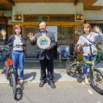 eバイクを活用して富士宮市の魅力を発信 スルガ銀行と富士宮市