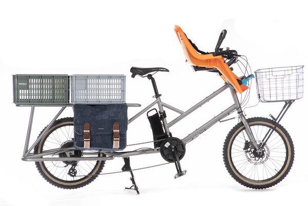ライトウェイの電動アシストカーゴバイク「グレイシアEカーゴ」発表