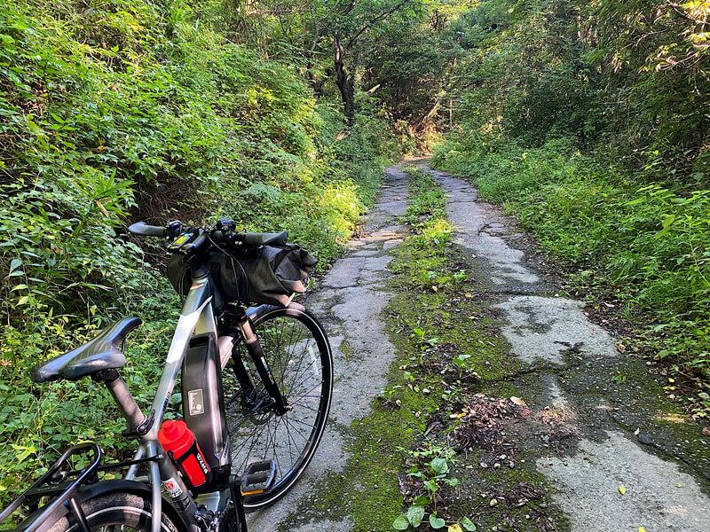 eバイクと悪路