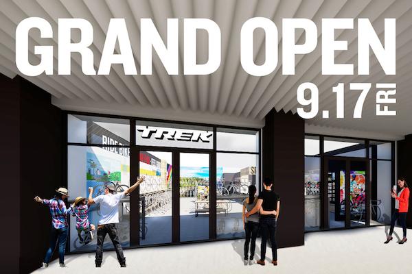 千葉県初のトレック直営店『TREK Bicycle 千葉アリオ市原店』がオープン