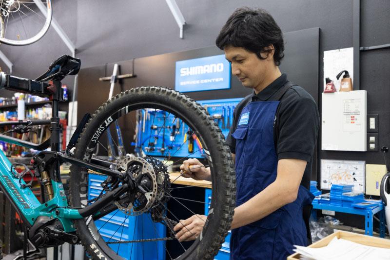 eバイクは購入後の整備が大切 「シマノサービスセンター」を活用しよう